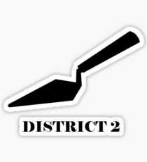 The Hunger Games - District 2 Sticker
