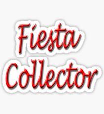 Fiesta Collector Sticker