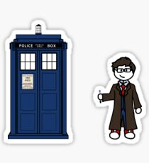 Dr Who (10) car sticker family (also shirts) Sticker