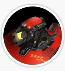 Pacific Rim Crimson Typhoon bust Sticker