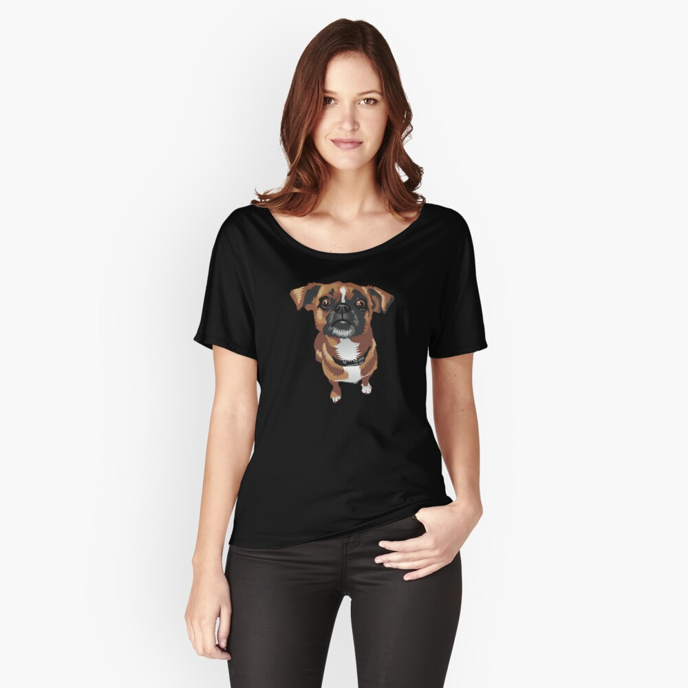 Pepper Women's Relaxed Fit T-Shirt Front
