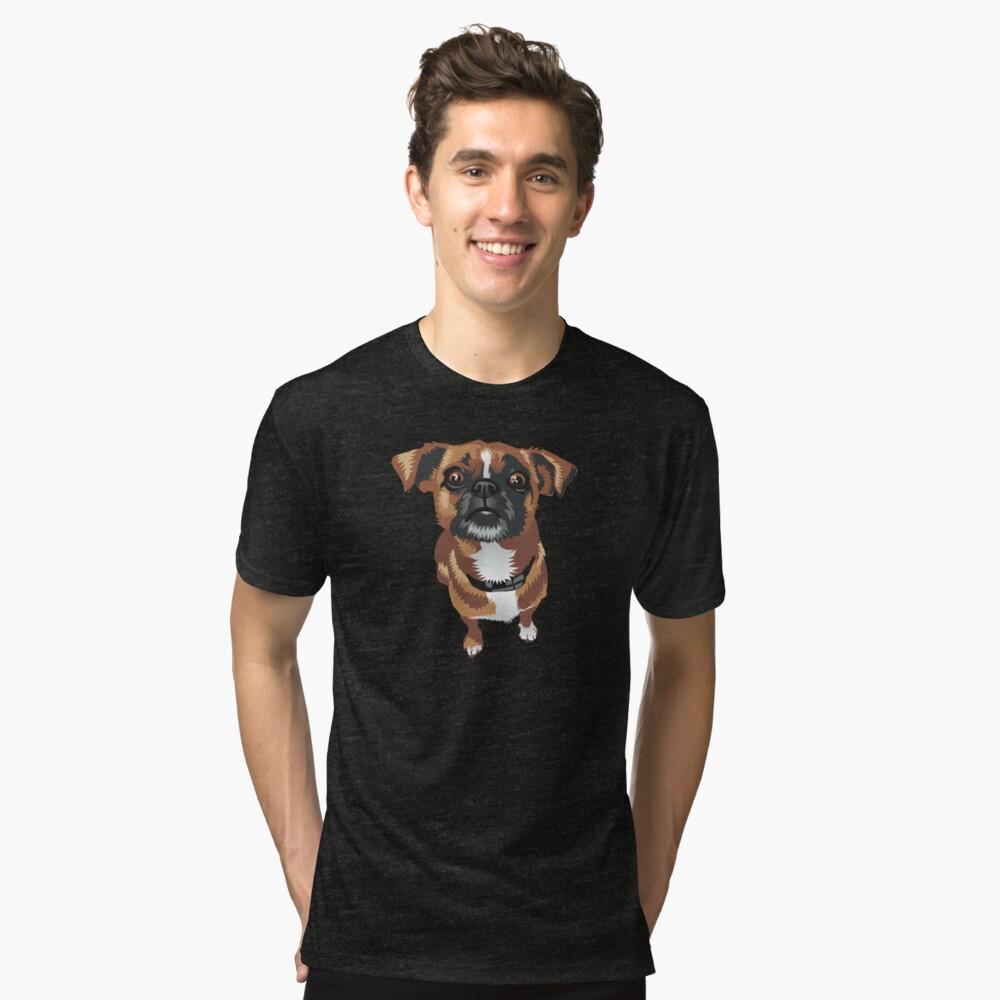Pepper Tri-blend T-Shirt Front