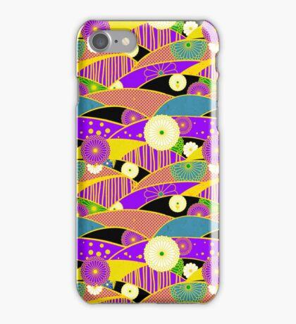 Chiyogami Lavender & Saffron [iPhone / iPod Case & Print] iPhone Case/Skin