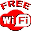 FREE WI FI by thatstickerguy