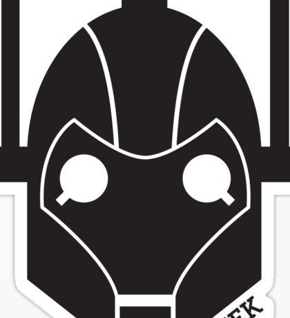 Geek Shirt #1 Cyberman Sticker