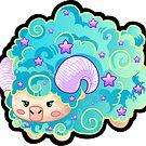 Sheep - Mint Berry by mechbunnies