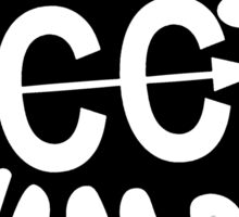 Cross Country Splatter Sticker