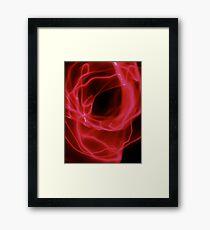 ©NLE Aureal Red III Framed Print