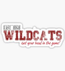 EAST HIGH WILDCATS Sticker