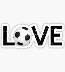 Soccer Love Sticker