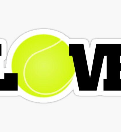 Tennis Love Sticker