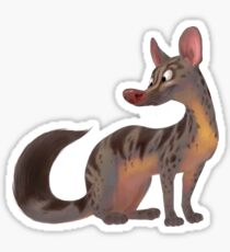 Owston's Civet Sticker
