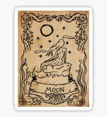 Mermaid Tarot: The Moon Sticker