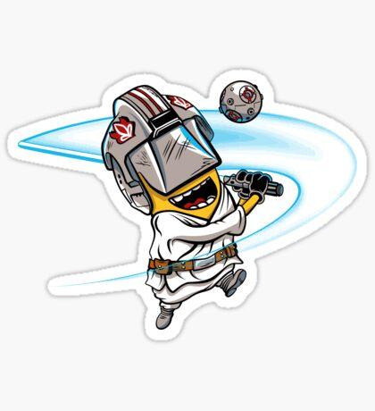 Minion Luke sticker Sticker