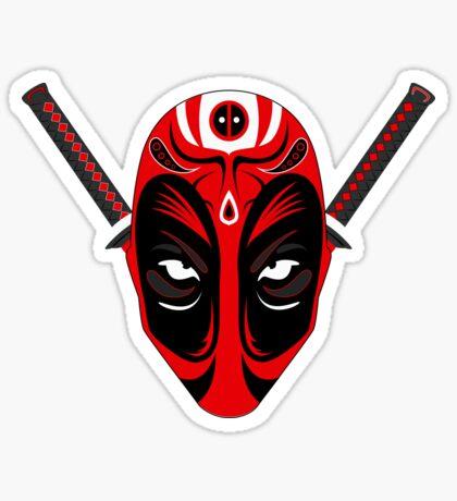 Kabuki Pool Sticker