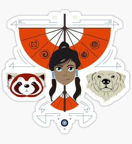 Spirited Avatar Sticker