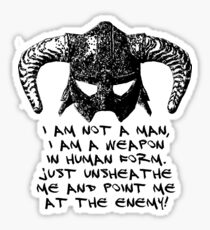 You are the Dragonborn. Sticker