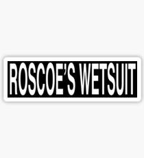 Roscoe's Wetsuit Sticker