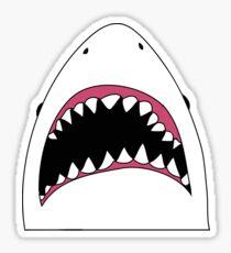 Transparent Shark face Sticker