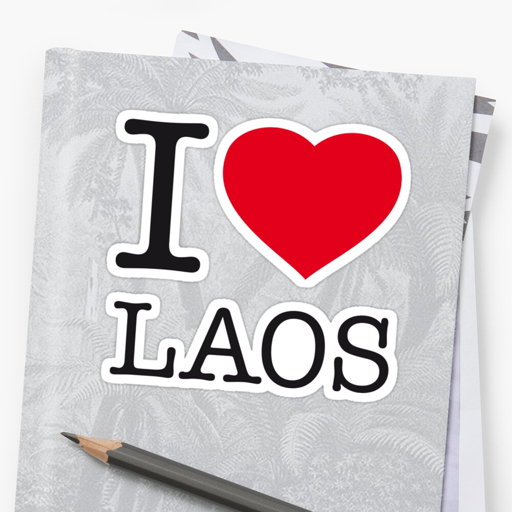 I ♥ LAOS by eyesblau
