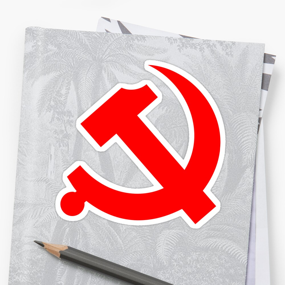 Chinese Communist Party Hammer and Sickle by NeoFaction
