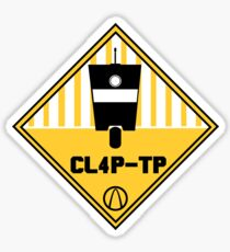 CL4P-TP Warning Sticker