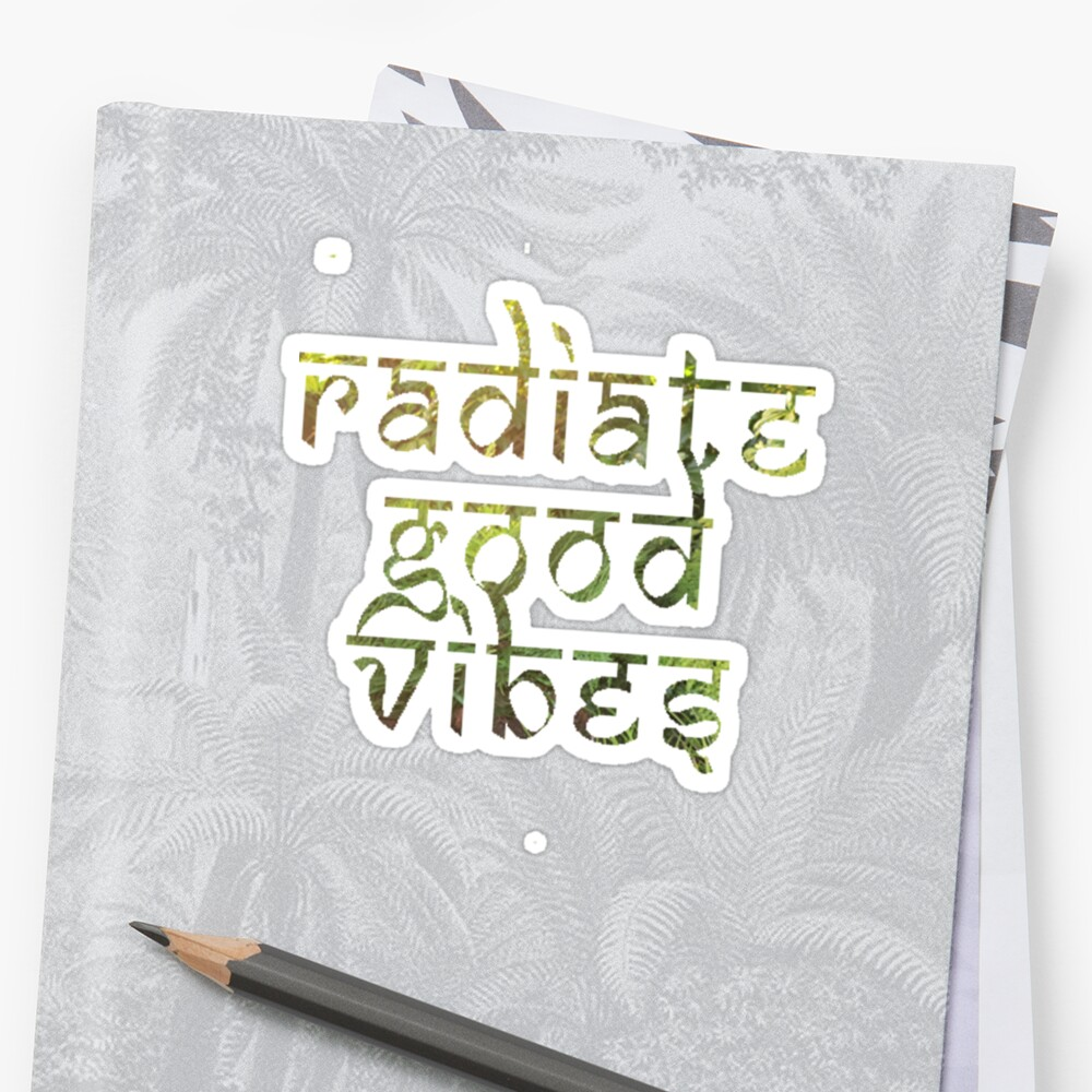 Radiate Good Vibes by bexsimone