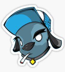 Dog Nut Sticker
