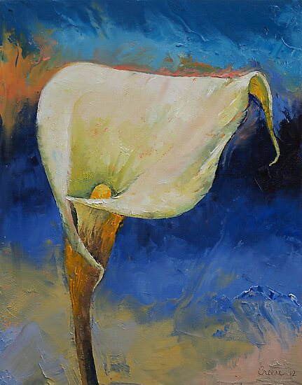 Calla Lily by Michael Creese