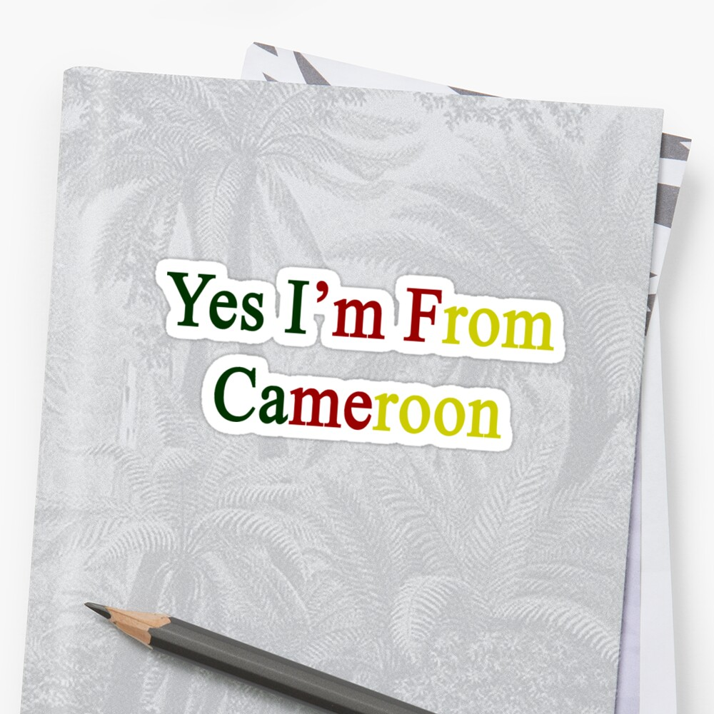 Yes I'm From Cameroon  by supernova23