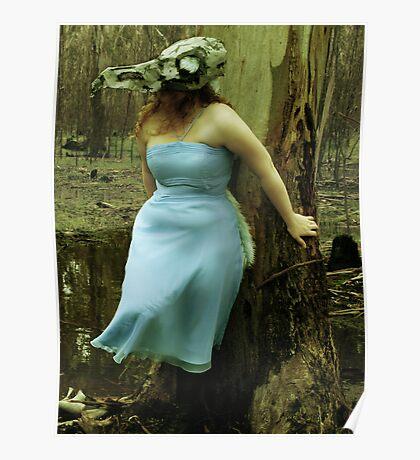 The bird skull mask Poster