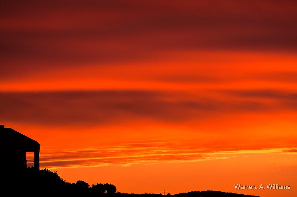 Sunrise at Kenton 6th June 2012 by Warren. A. Williams