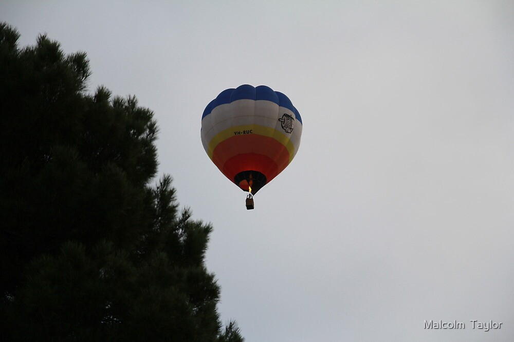 Nothing but hot air by Malcolm  Taylor