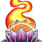 Glowing Lotus by Chris Parker