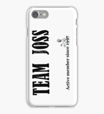Team Joss iPhone Case/Skin