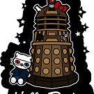 Hello Doctor Tennant (Sticker) by RebelArts