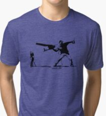 Yank and Banksy Tri-blend T-Shirt