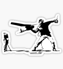 Yank and Banksy Sticker