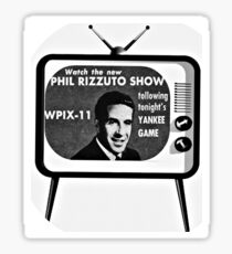 Watch The Phil Rizzuto Show Sticker