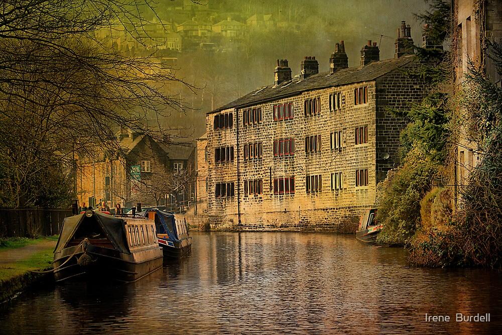 Hebden Bridge Canal  by Irene  Burdell