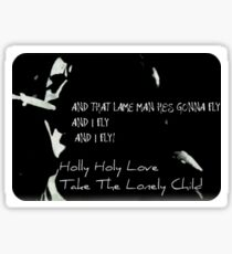 Neil Diamond Holly Holy BW 70's Sticker