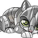 Mini-Mech Kitten by derangedhyena