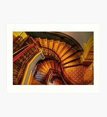 Grand Stairway. Art Print