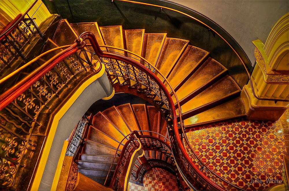 Grand Stairway. by Julie  White