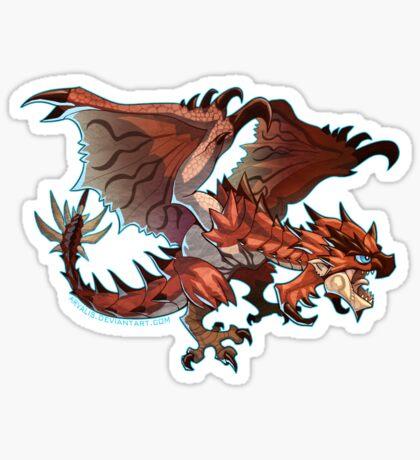 Rathalos Cutie Sticker