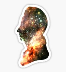 Colorful Celestial Stars   Messier Headula Sticker