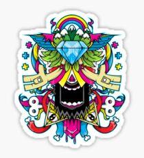 Insightful Peace-Swiftyspade Sticker