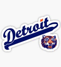 Detroit! Sticker