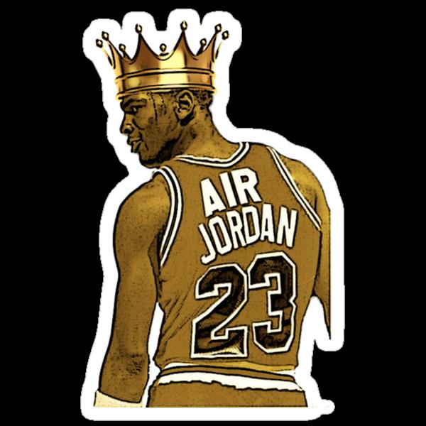 Quot Michael Quot Air Quot Jordan King Quot Stickers By Ash94 Redbubble
