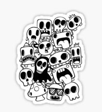 Doodle Characters Sticker